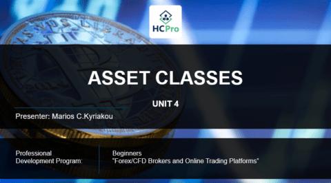 PART 4 – ASSET CLASSES