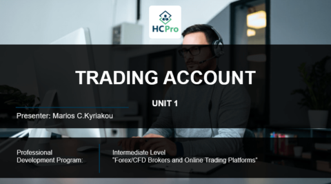 PART 1- TRADING ACCOUNT
