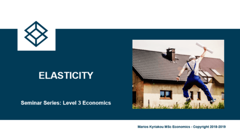 Elasticity – Level 3 Economics