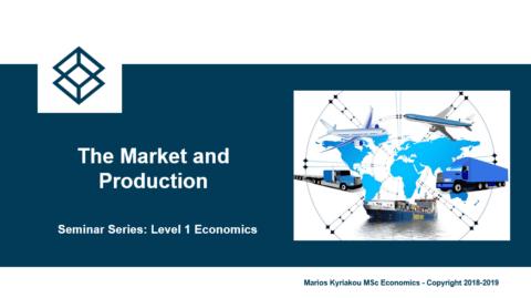 The Market and Production – Level 1 Economics