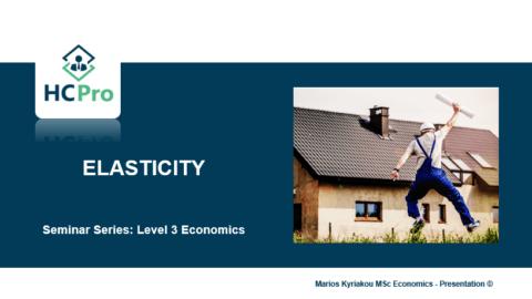 4. Elasticity – Level 3 Economics