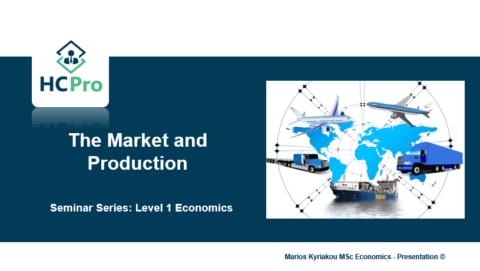 4. The Market and Production – Level 1 Economics