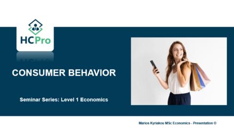 2. Consumer Behavior – Level 1 Economics