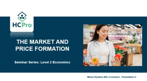 3. Market and Price Formation – Level 2 Economics