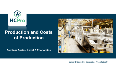 2. Production and Production Costs – Level 3 Economics