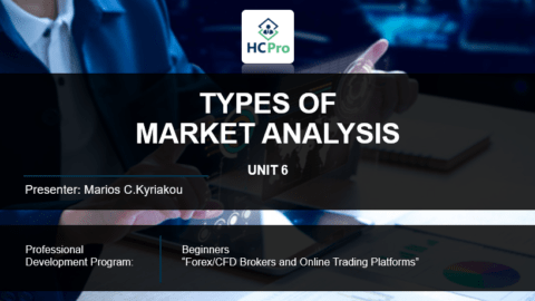 PART 6 – THE TYPES OF MARKET  ANALYSIS