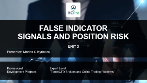 PART 3 – FALSE INDICATOR  SIGNALS AND POSITION RISK